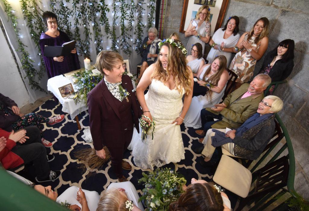 Wedding Celebrant Service - Joolz Stewart - Ravens Retreat